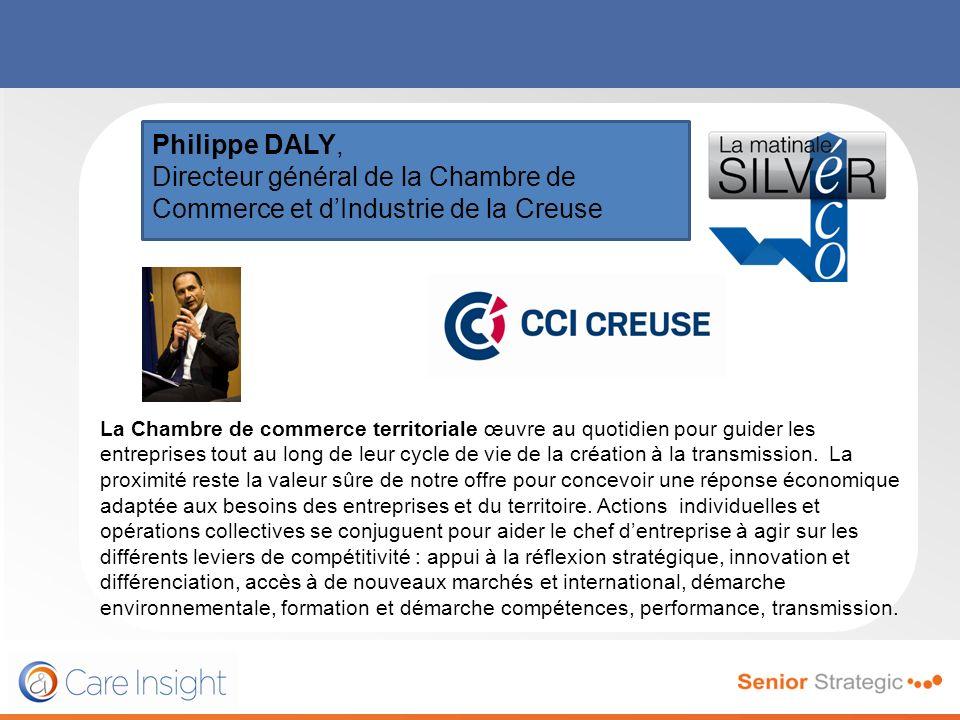 Philippe DALY, Directeur général de la Chambre de Commerce et d'Industrie de la Creuse.