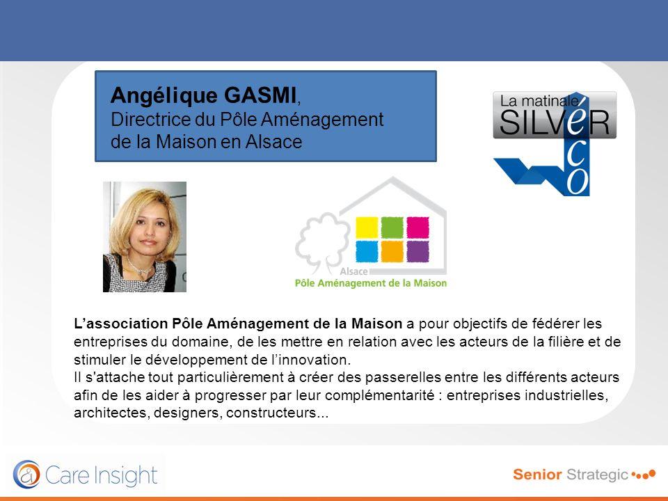 Angélique GASMI, Directrice du Pôle Aménagement de la Maison en Alsace
