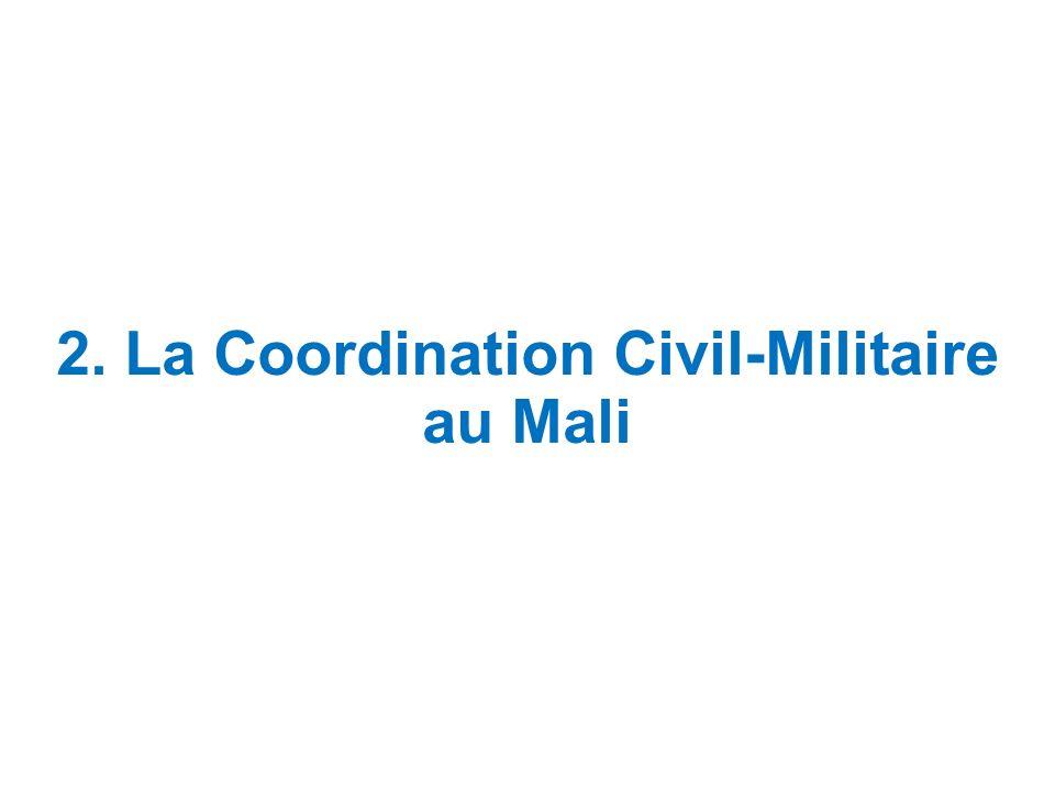 2. La Coordination Civil-Militaire au Mali