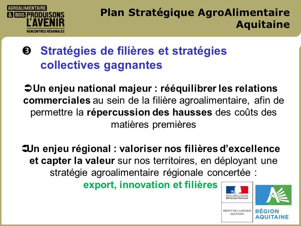 Plan Stratégique AgroAlimentaire Aquitaine