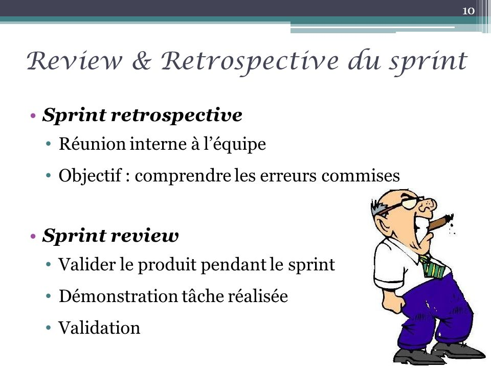 Review & Retrospective du sprint