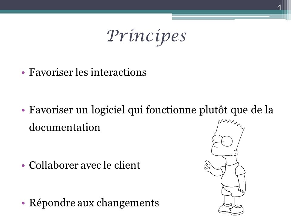 Principes Favoriser les interactions