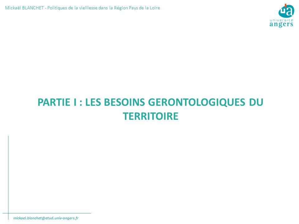 PARTIE I : LES BESOINS GERONTOLOGIQUES DU TERRITOIRE