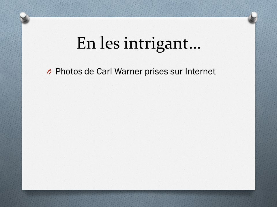 En les intrigant… Photos de Carl Warner prises sur Internet