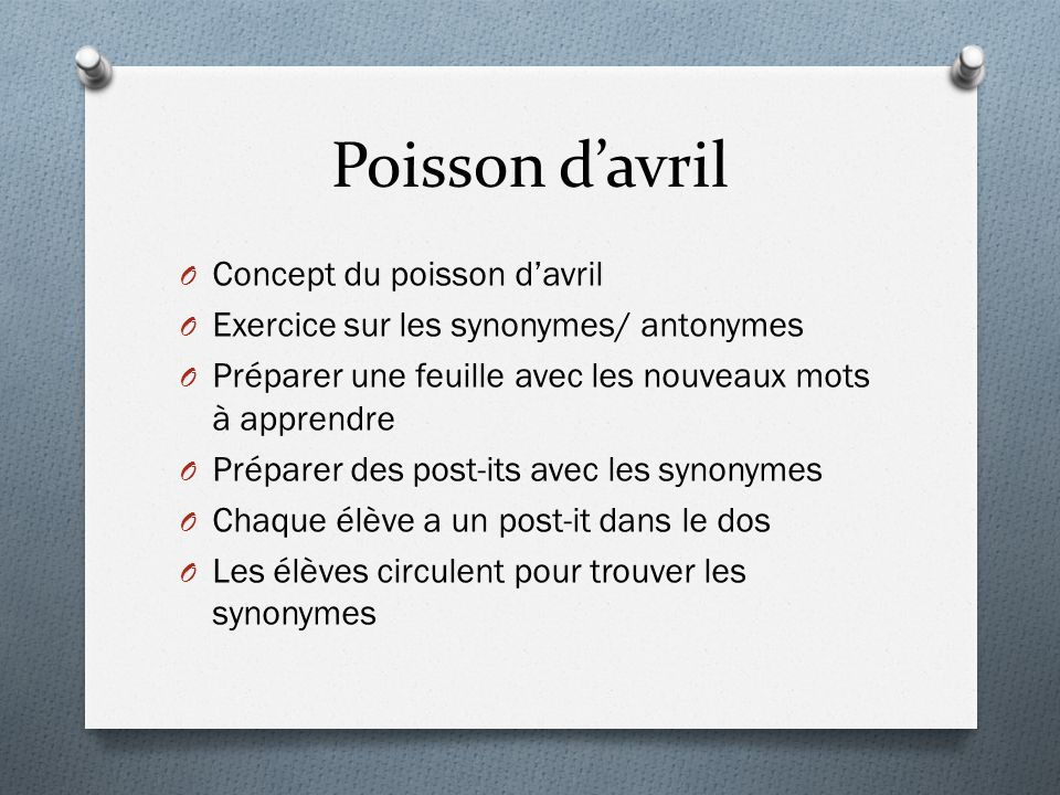 Poisson d'avril Concept du poisson d'avril