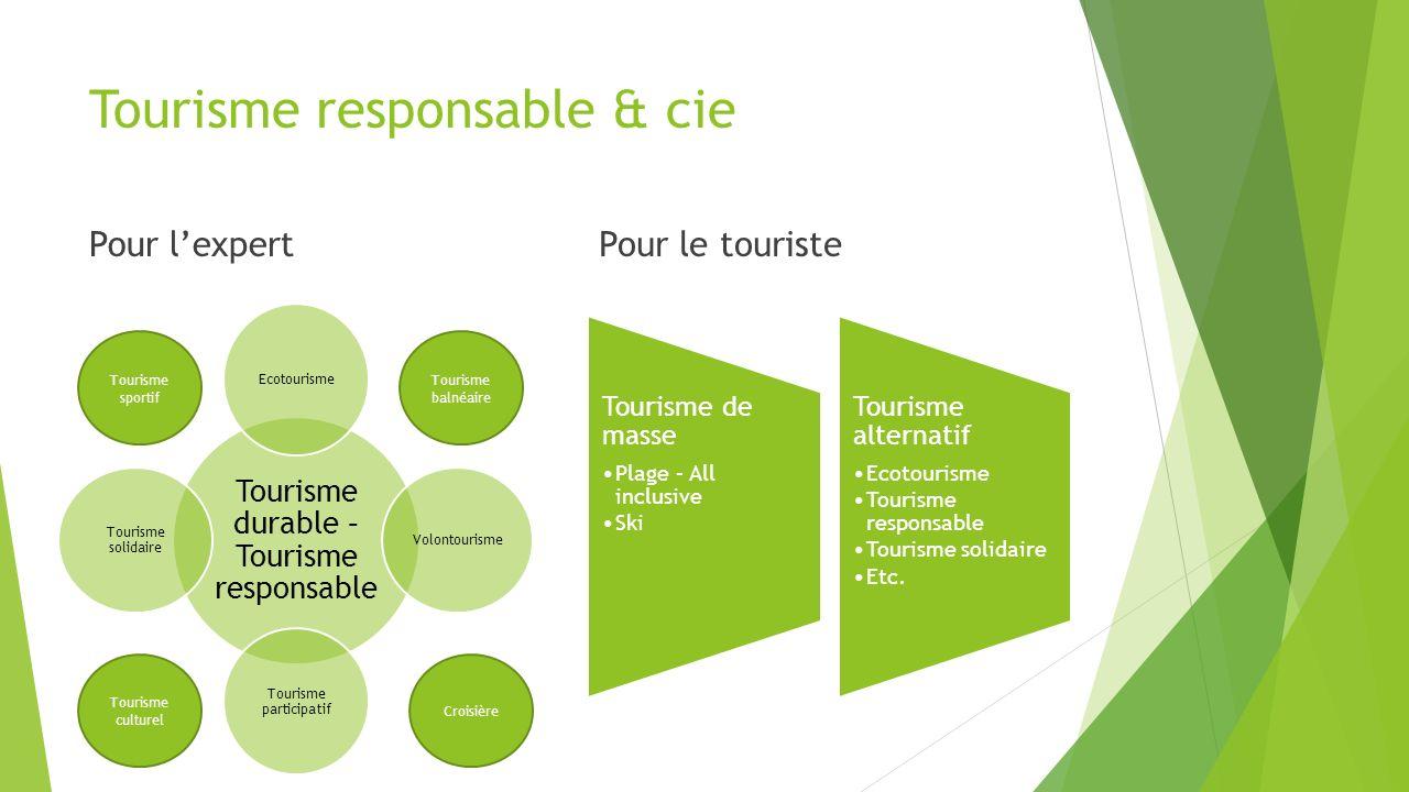 Tourisme responsable & cie