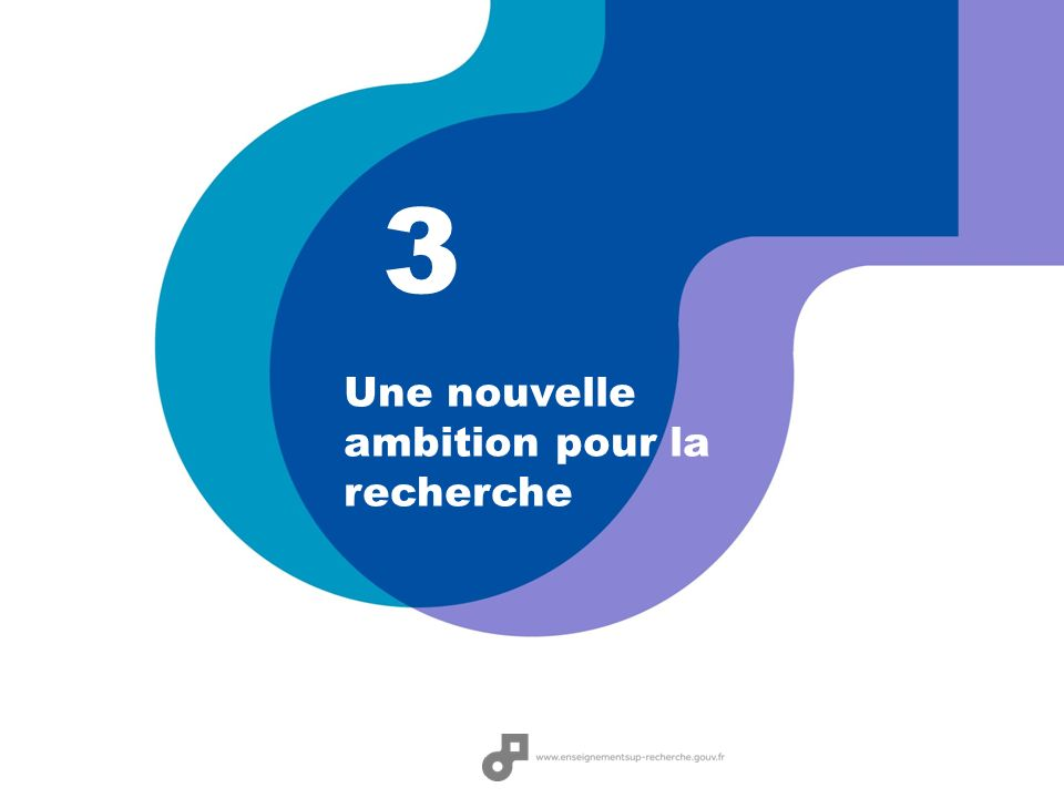 3 Une nouvelle ambition pour la recherche