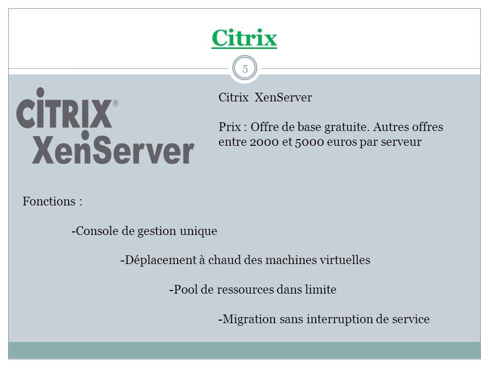 Citrix Citrix XenServer