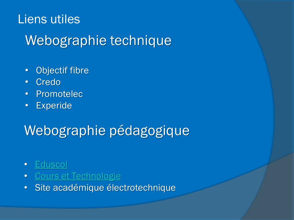 Webographie technique