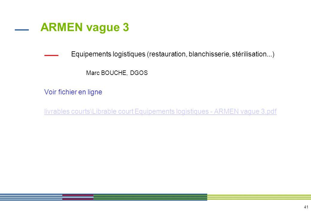 ARMEN vague 3 DMI Voir fichier en ligne