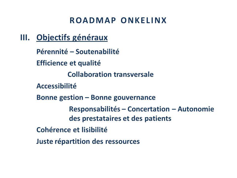 III. Objectifs généraux