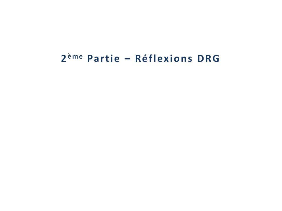 2ème Partie – Réflexions DRG