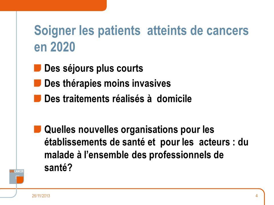 Soigner les patients atteints de cancers en 2020