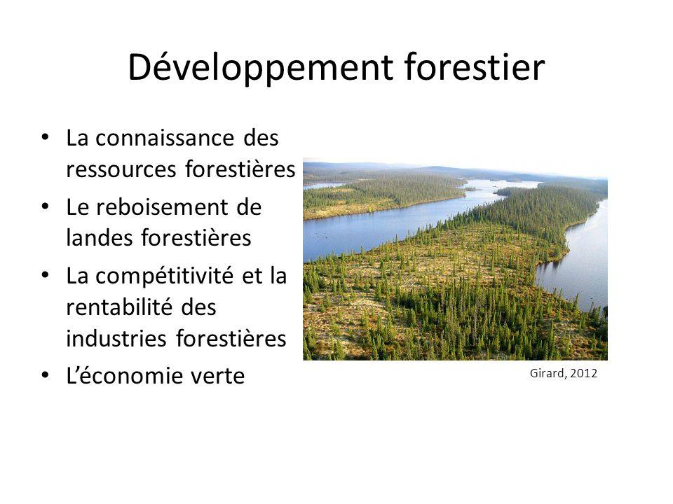 Développement forestier