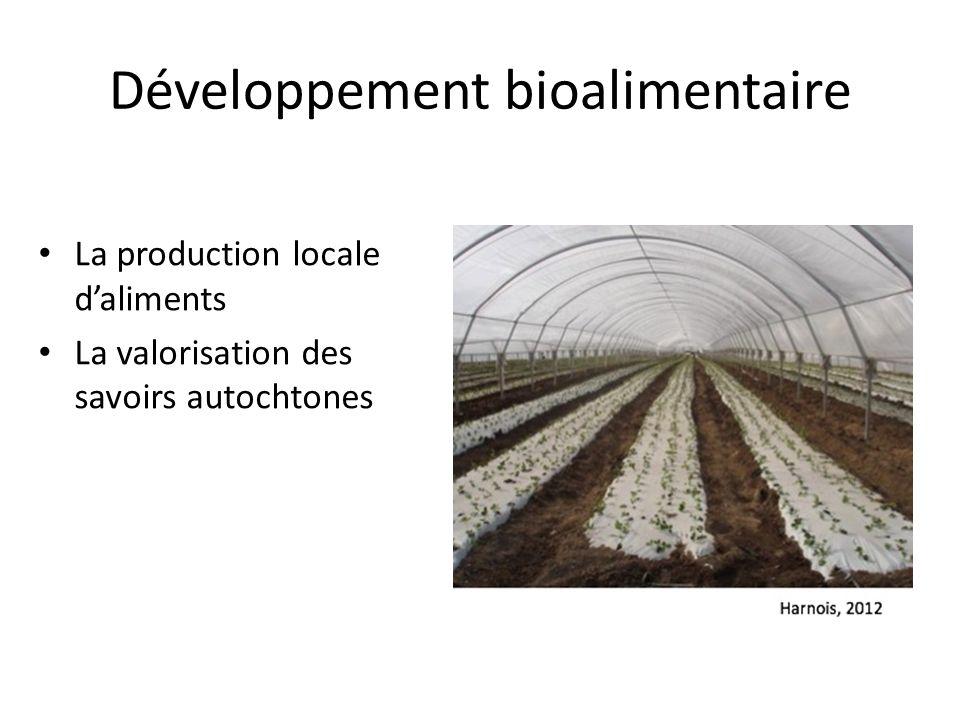 Développement bioalimentaire