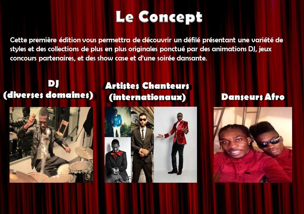 Le Concept DJ Artistes Chanteurs (diverses domaines) (internationaux)