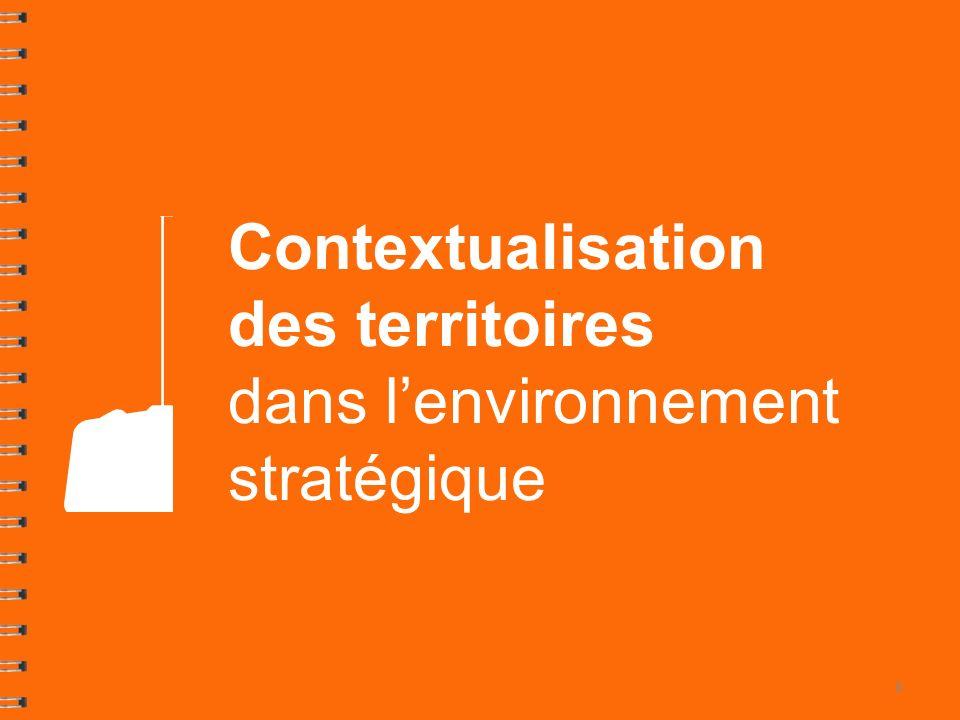 Contextualisation des territoires dans l'environnement stratégique
