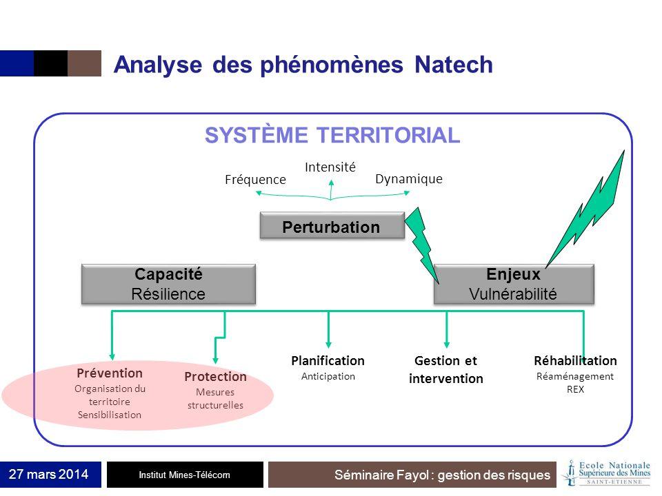 Analyse des phénomènes Natech
