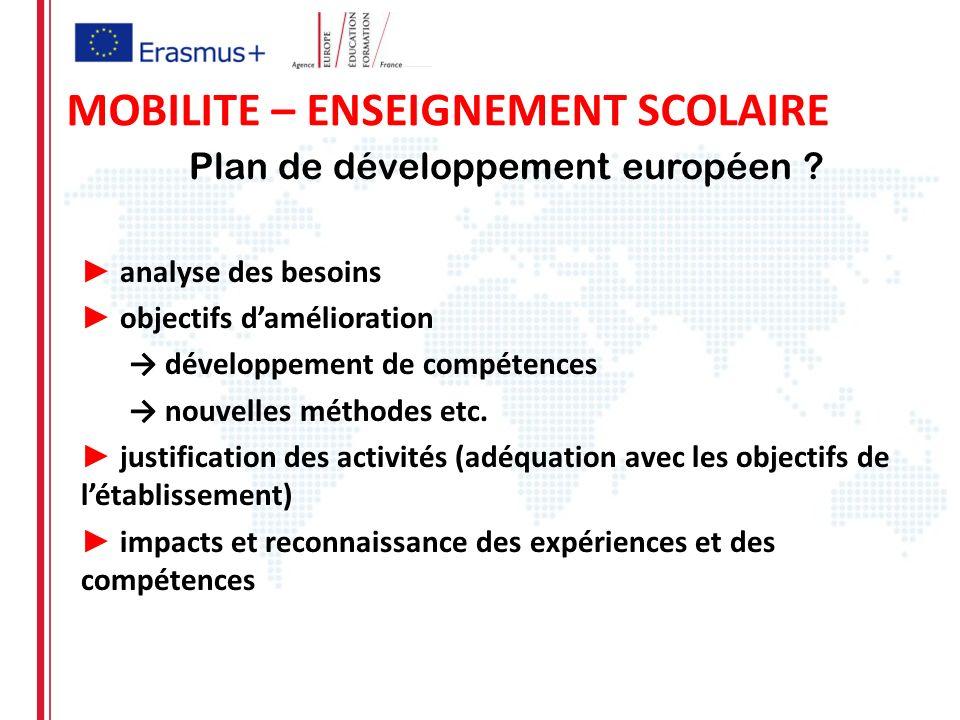 Plan de développement européen