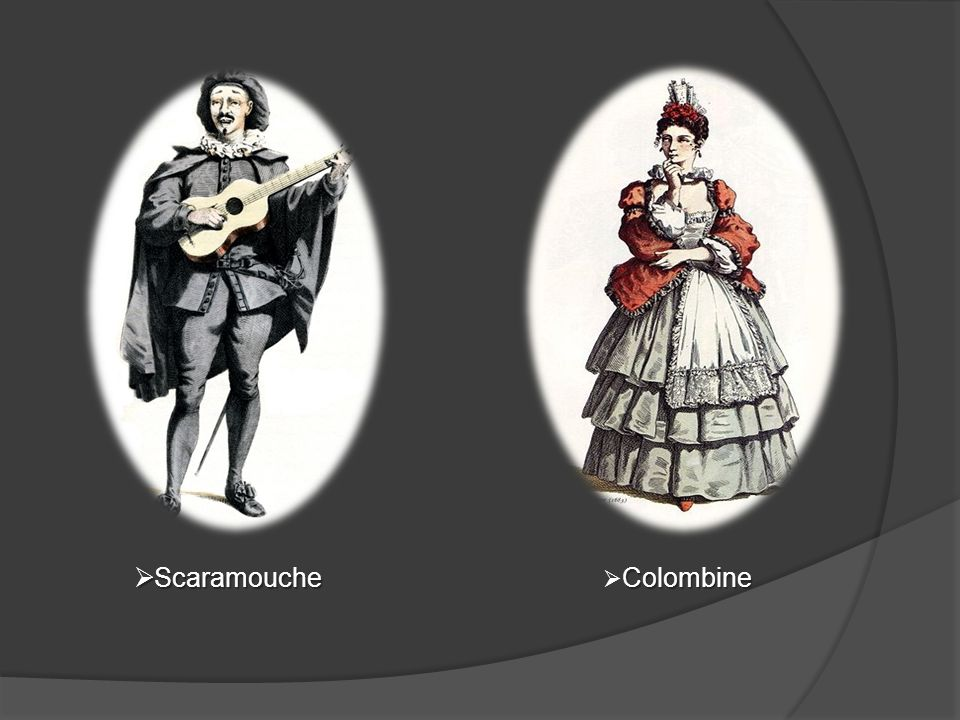 Scaramouche Colombine