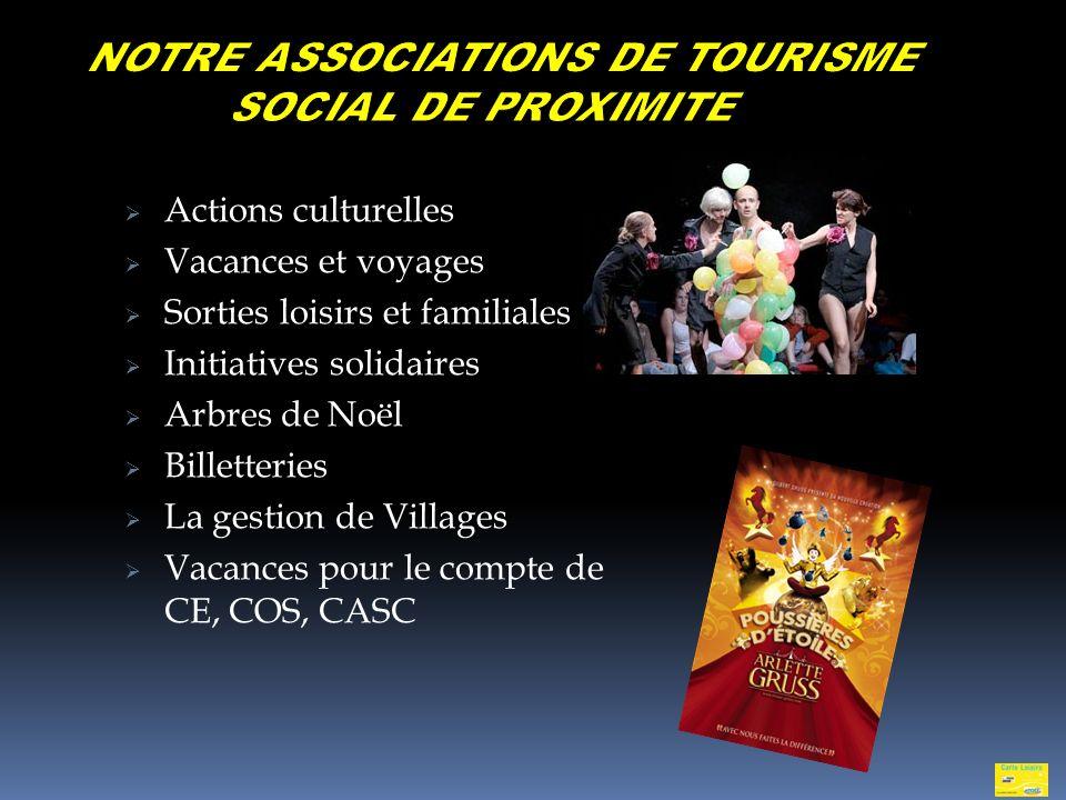 NOTRE ASSOCIATIONS DE TOURISME