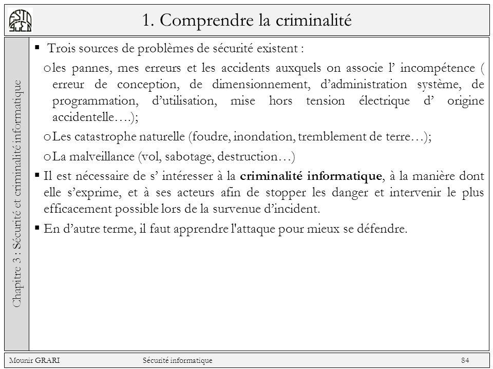 1. Comprendre la criminalité