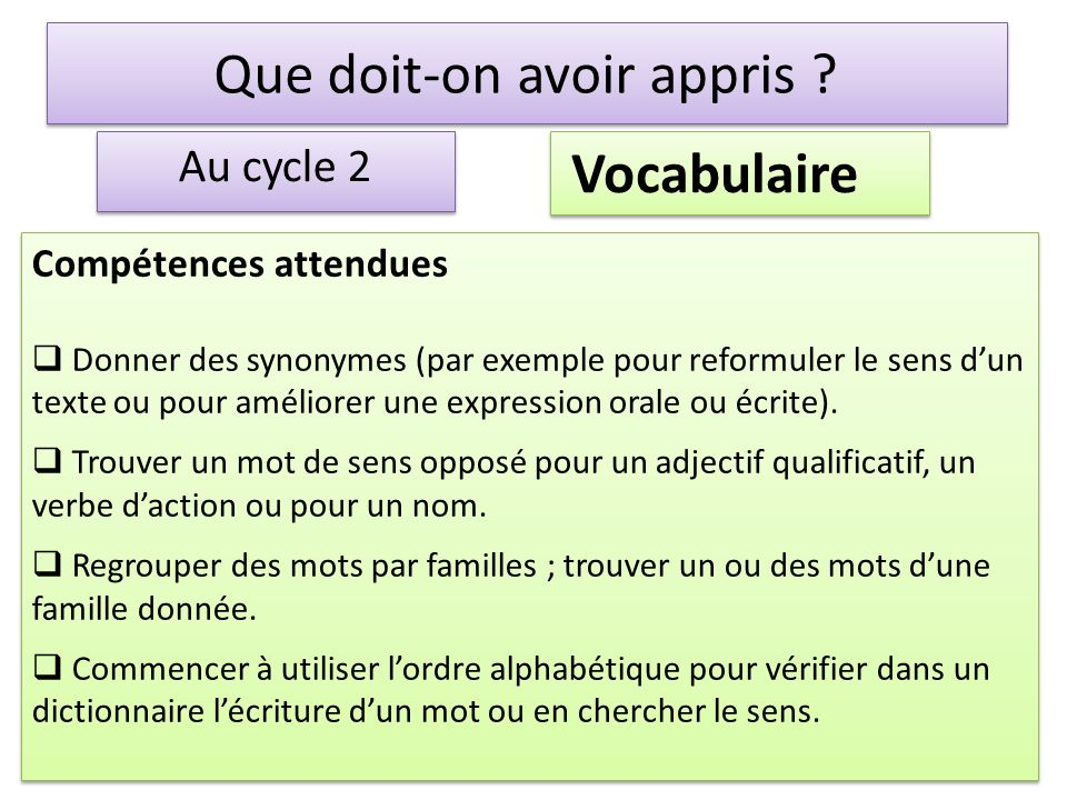 donner du sens aux activit s de grammaire de vocabulaire et d orthographe au cycle 2 la fert. Black Bedroom Furniture Sets. Home Design Ideas