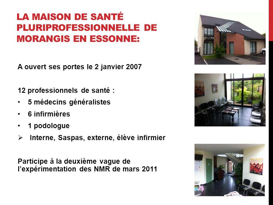 La maison de santé pluriprofessionnelle de Morangis en Essonne: