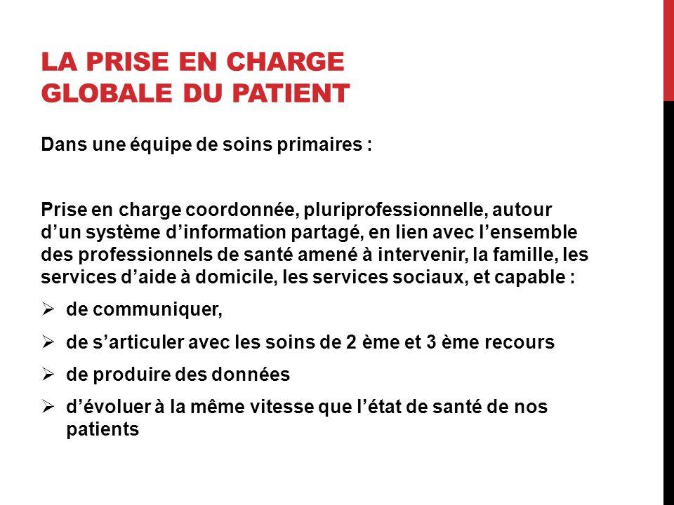 La prise en charge globale du patient