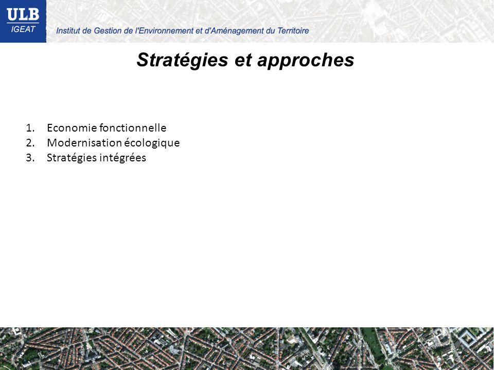 Stratégies et approches