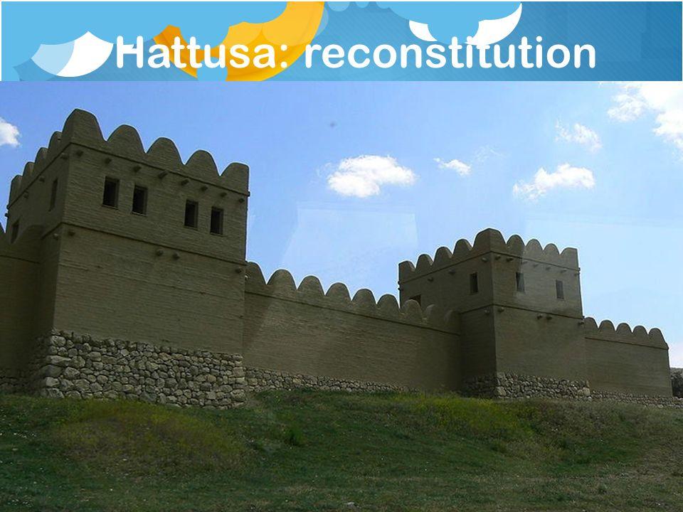 Hattusa: reconstitution