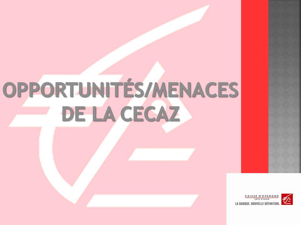 OPPORTUNITÉS/MENACES DE LA CECAZ