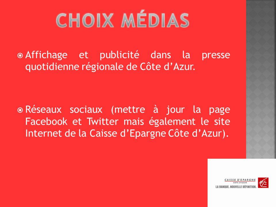 CHOIX MÉDIAS Affichage et publicité dans la presse quotidienne régionale de Côte d'Azur.