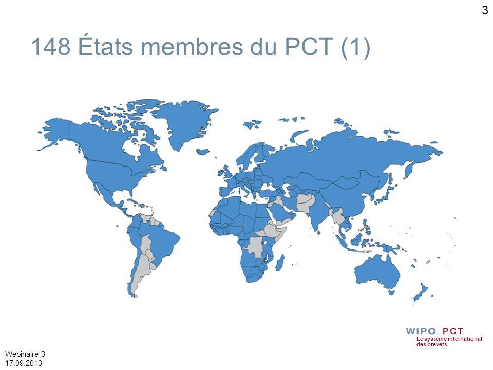 148 États membres du PCT (1)