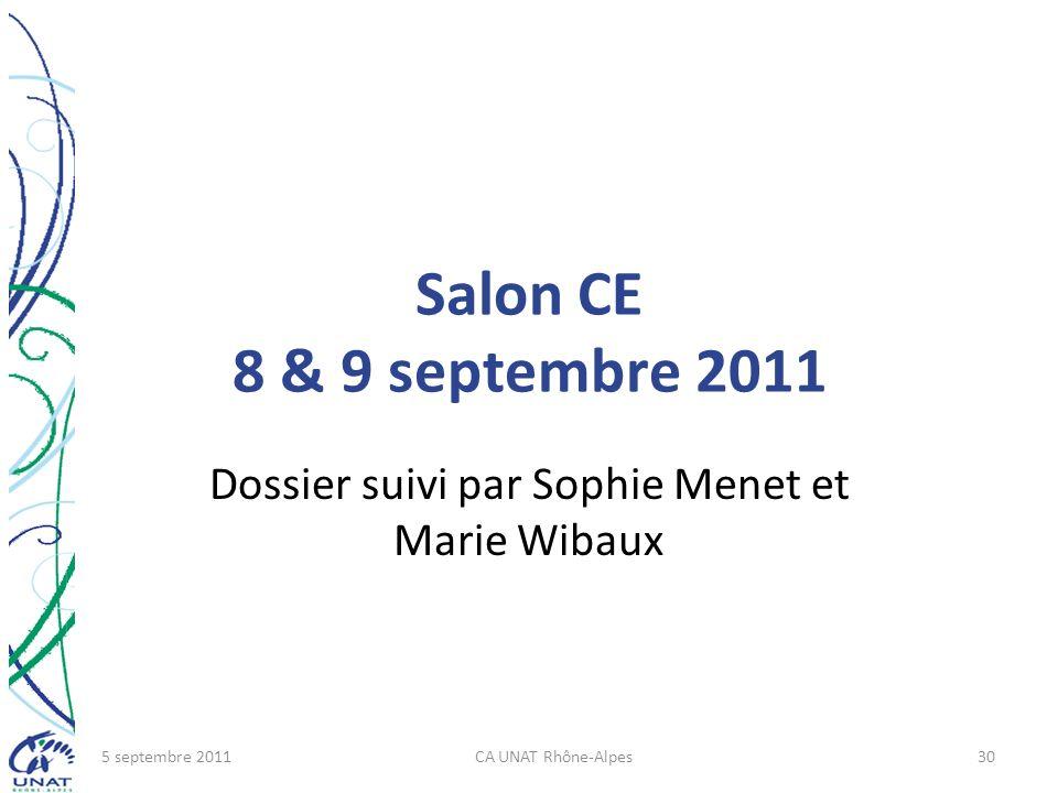 Dossier suivi par Sophie Menet et Marie Wibaux