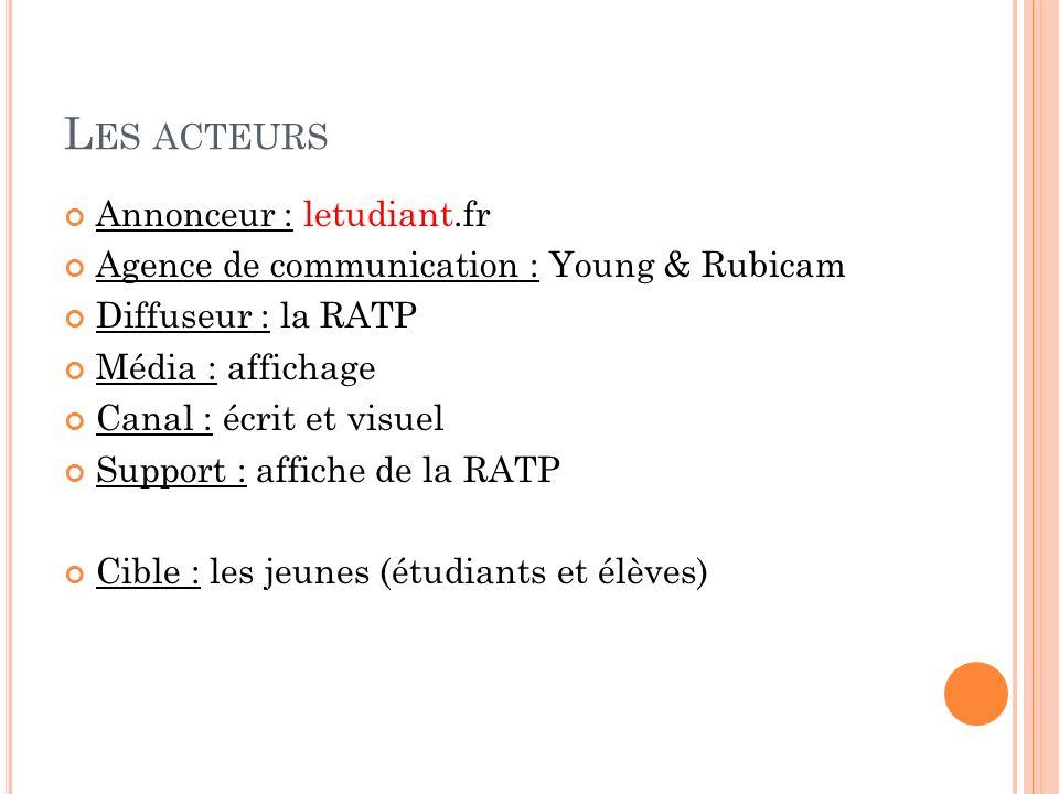 Les acteurs Annonceur : letudiant.fr