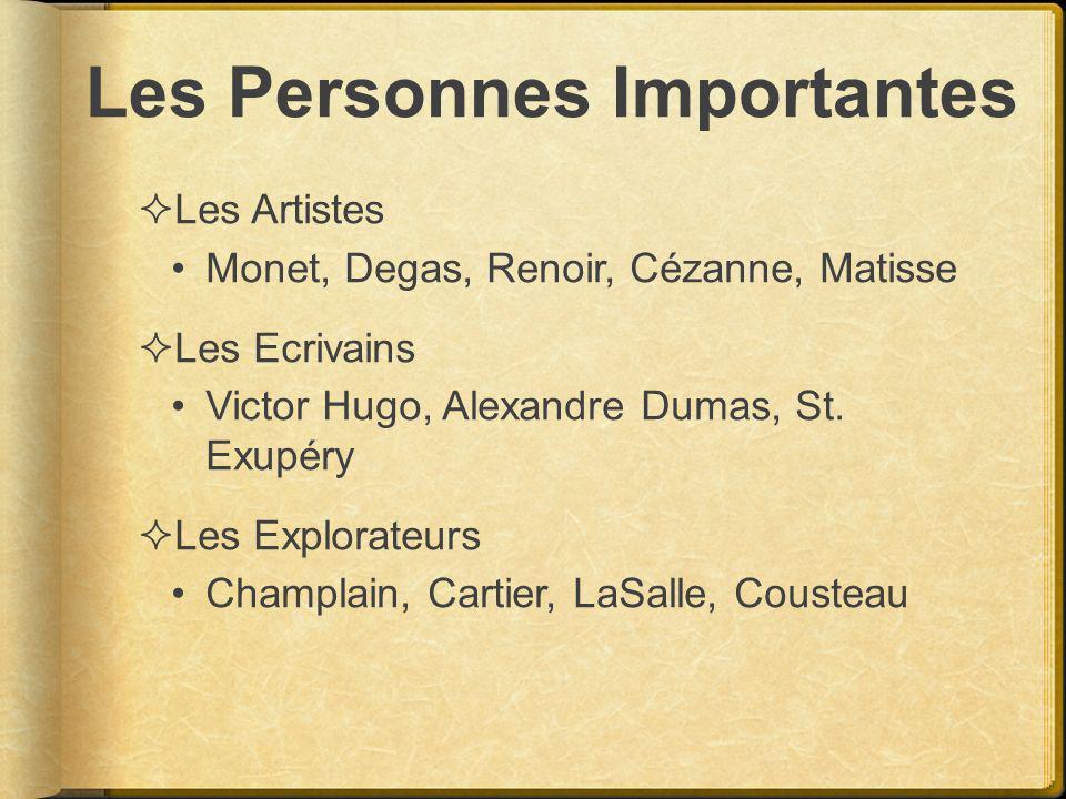Les Personnes Importantes