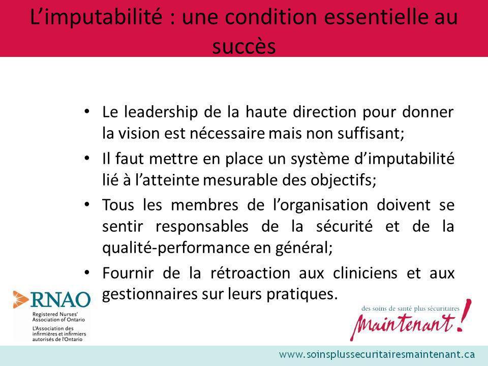 L'imputabilité : une condition essentielle au succès