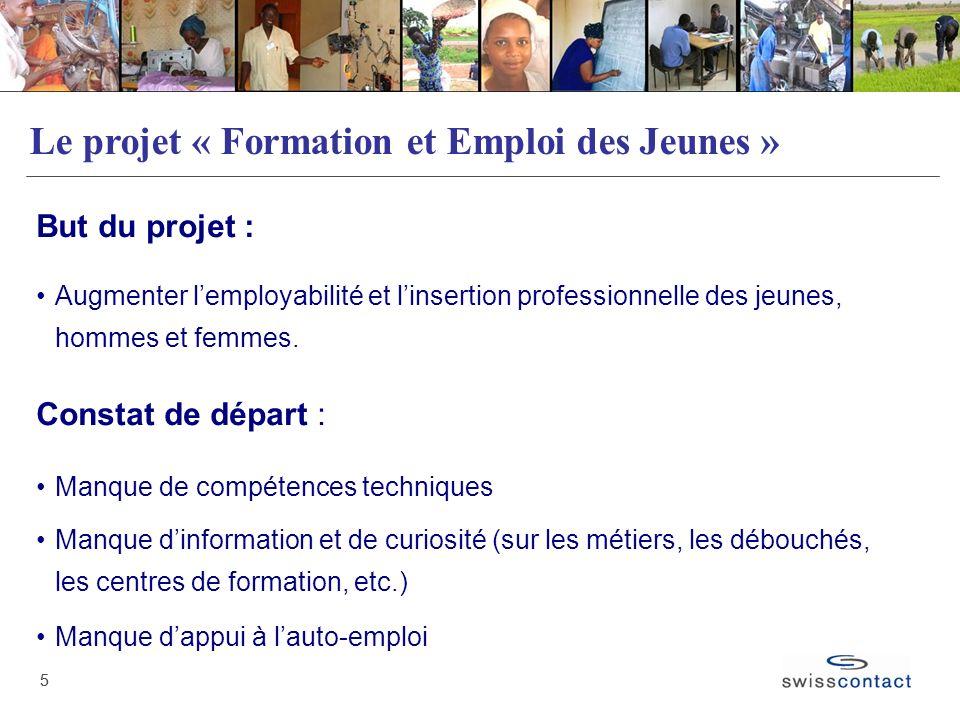 Le projet « Formation et Emploi des Jeunes »