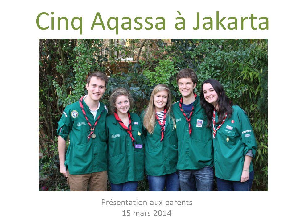 Présentation aux parents 15 mars 2014
