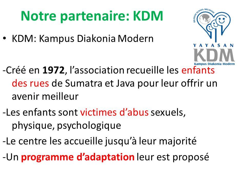 Notre partenaire: KDM KDM: Kampus Diakonia Modern