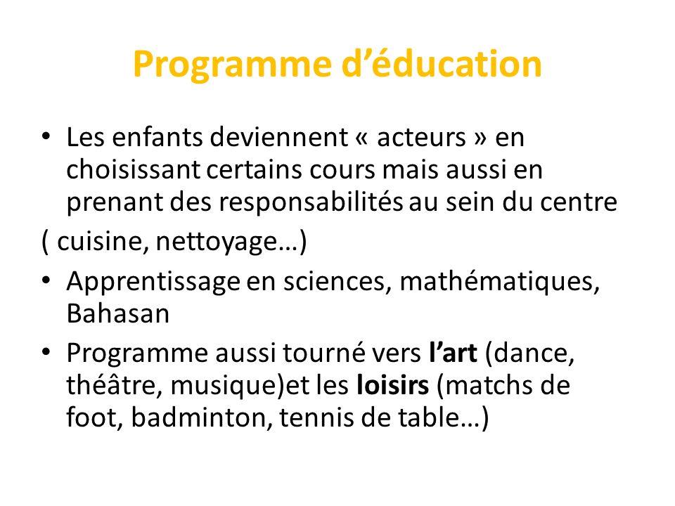 Programme d'éducation
