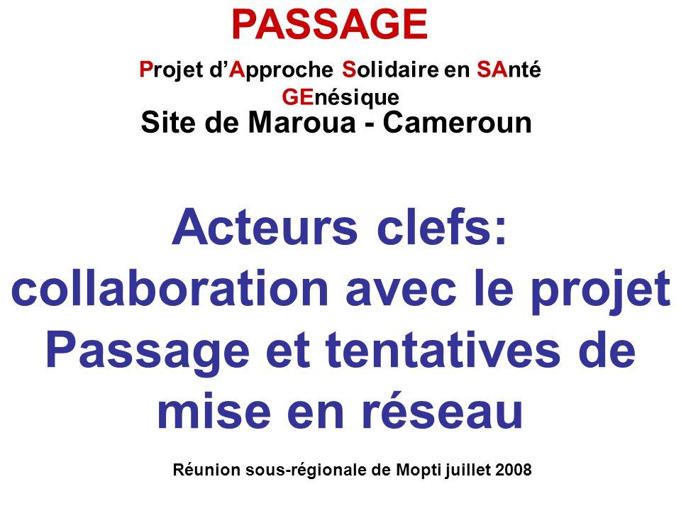 Réunion sous-régionale de Mopti juillet 2008