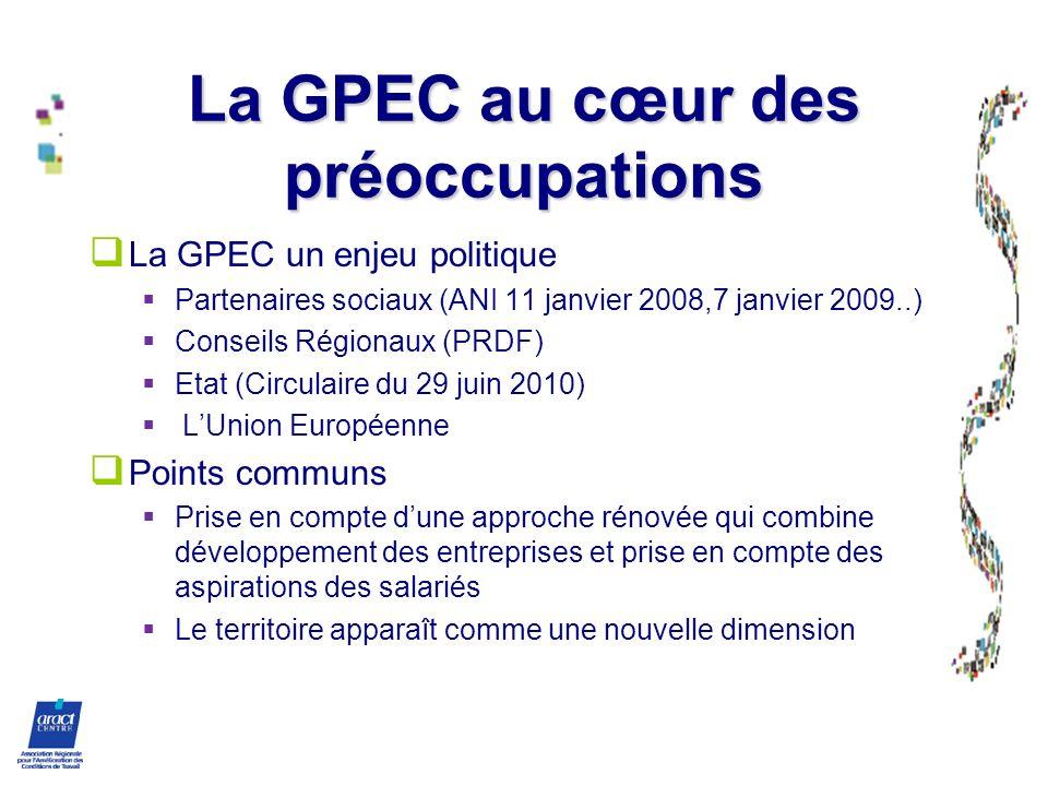 La GPEC au cœur des préoccupations