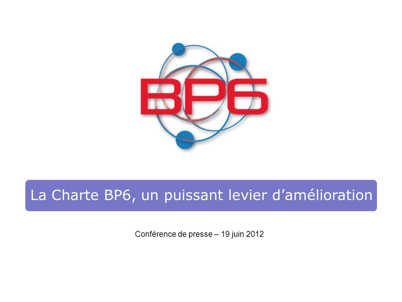 La Charte BP6, un puissant levier d'amélioration