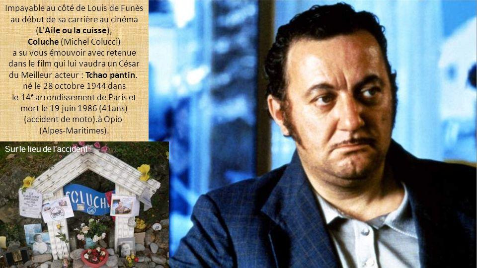 Impayable au côté de Louis de Funès au début de sa carrière au cinéma