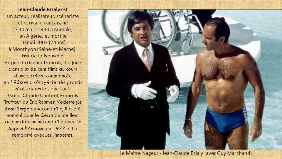 Le Maître Nageur - Jean-Claude Brialy avec Guy Marchand I