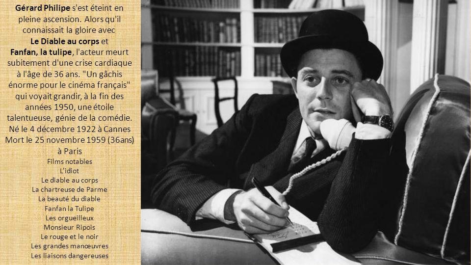 Mort le 25 novembre 1959 (36ans) à Paris