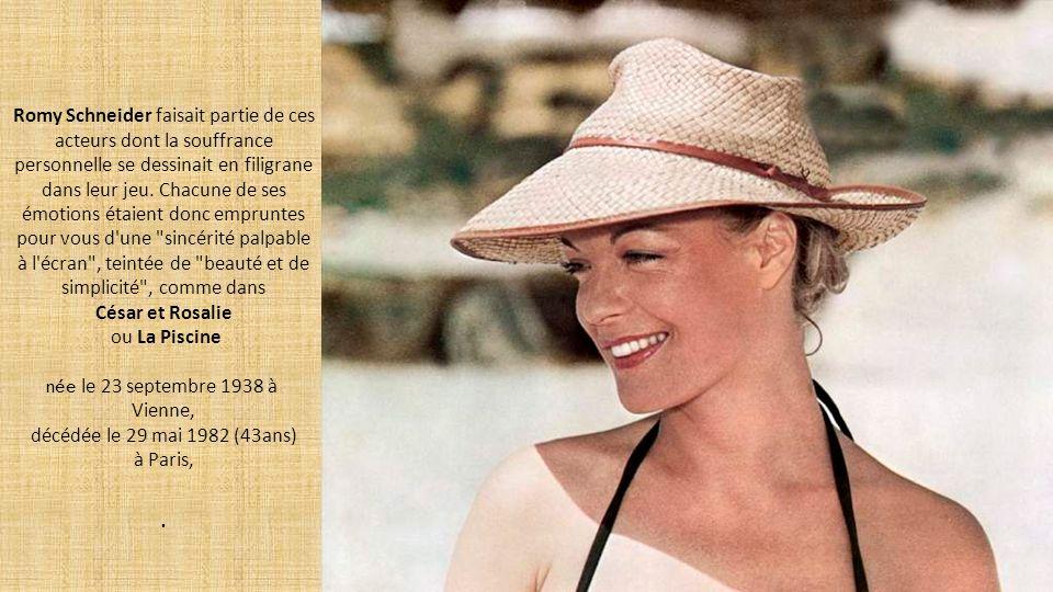 décédée le 29 mai 1982 (43ans) à Paris,