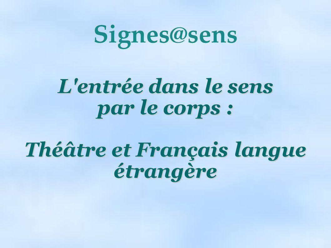 Théâtre et Français langue